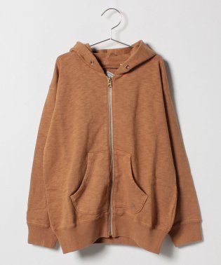 Jr. SWEAT ZIP UP PARKA
