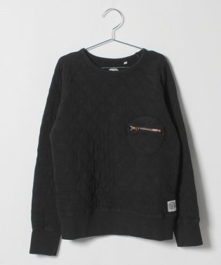 Jr. QUILT ZIP SWEAT