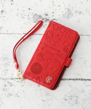 ファッションモチーフ型押しブック型iPhone8/7/6/6sケース