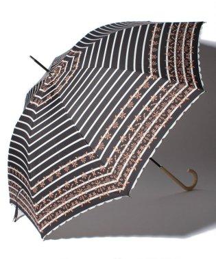ボーダーレース長傘 雨傘