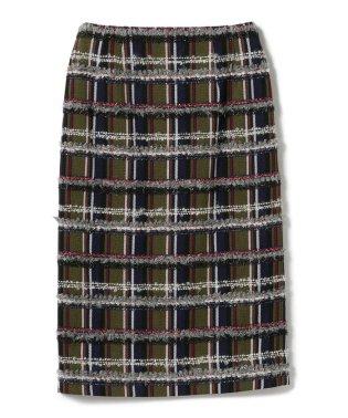 Demi-Luxe BEAMS / ミックスツイード スカート
