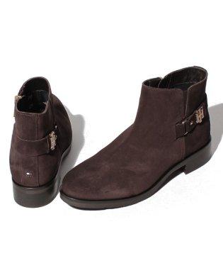 スウェード ショート ブーツ