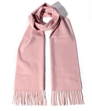 【Johnstons】New Size Plain Scarf