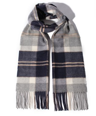 【Johnstons】New SizeTartan Scarf