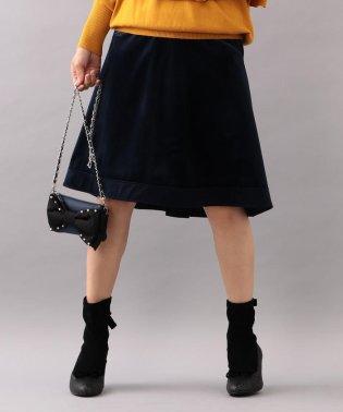 【WEB・店舗限定】【Tricolore】プティコーデュロイスカート