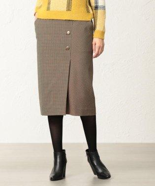 ★★【美Skirt】【ウォッシャブル】チェルビックチェックタイトスカート