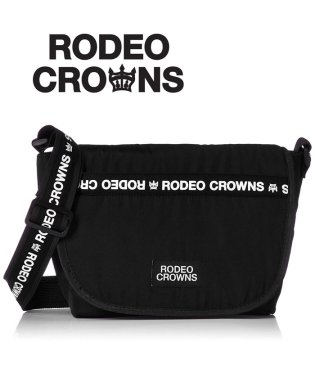 【RODEO CROWNS】【RODEOCROWNS】LOGO NYLON FLAP SHOULDER