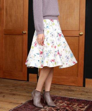 花フレアスカート