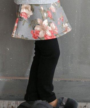 レギンス付きスカート【裏起毛】