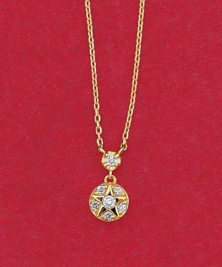 【数量限定】K18YG ダイヤモンド  0.040 CT ブリステラネックレス