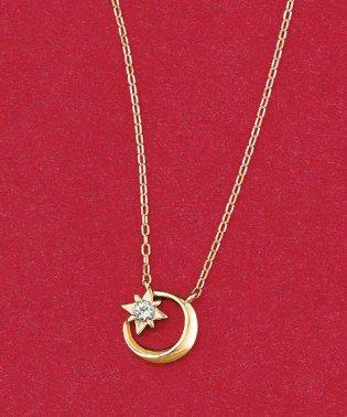 【数量限定品】K10YG ダイヤモンド 0.020 CT リーデラネックレス