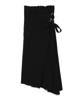 アシメレースアップスカート