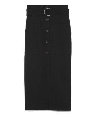 バックプリーツタイトスカート