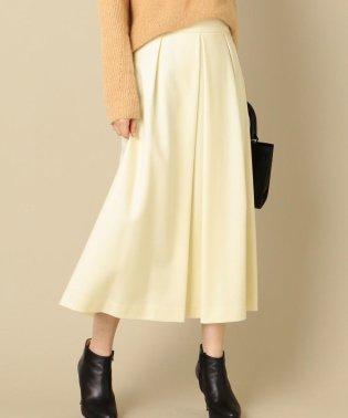 ウールワイドスカート