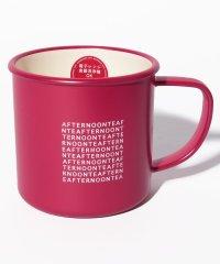 ロゴ柄樹脂マグカップ