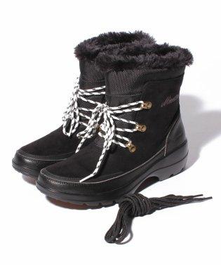 【MINNETONKA】カウスエードレースアップ防水加工ブーツ