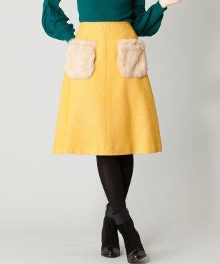 【RUBAN D'OR】ポケットファースカート