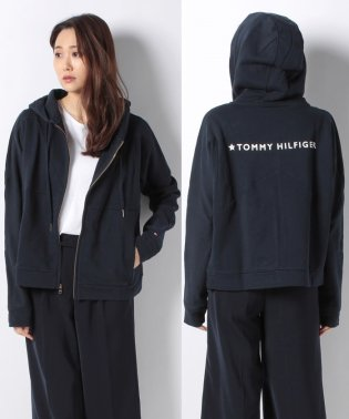 TOMMY バック ロゴ パーカー