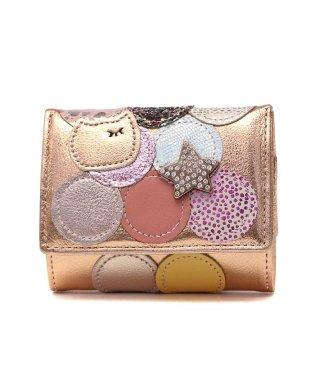 ツモリチサト 財布 tsumori chisato carry 三つ折り財布 新マルチドット ミニ財布 57089