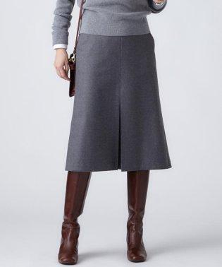 【限定カラーあり】ミルドウールフランネル スカート