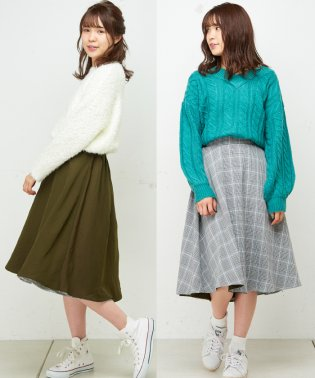 【natural couture】Newリバーシブルスカート