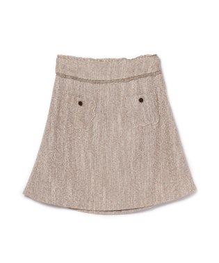 バックティアード台形スカート/ mille fille closet