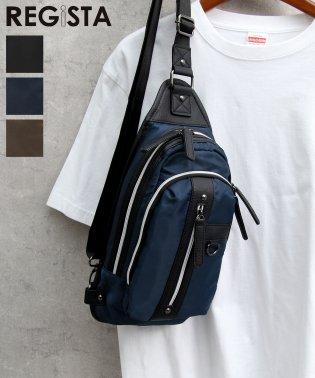 【REGiSTA/レジスタ】PVCナイロンボディバッグ