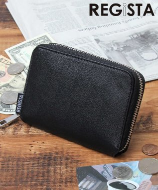 サフィアーノレザービルフォードウォレット/二つ折り財布