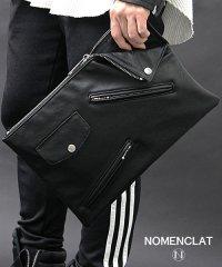ライダースデザインクラッチバッグ