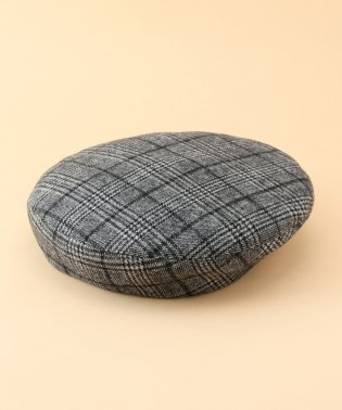 【ROPE' PICNIC KIDS】グレンチェックベレー帽