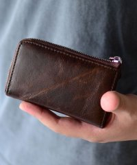 ICカード収納付きコインケース革