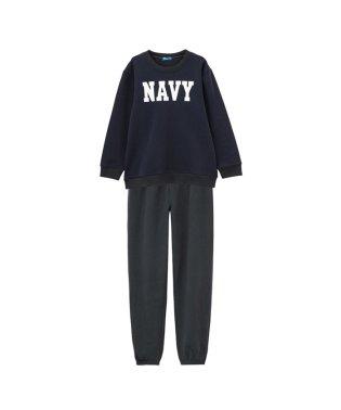 Navy 裏起毛スウェットセットアップ 872017MH