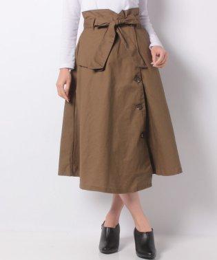 ツイル大人めスカート