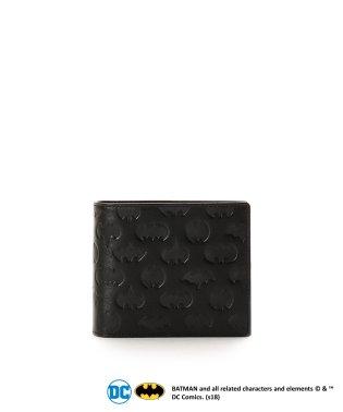 バットマンコラボ 型押し折財布