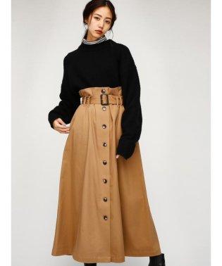 FRONT BUTTON LONG スカート