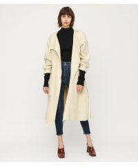 SIDE SLIT STAND COAT