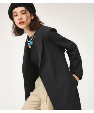 SHAWL COLLAR LONG COAT