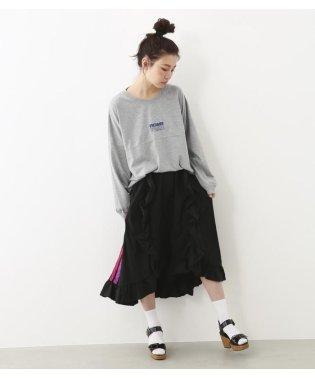 PEAC フリル フレア スカート