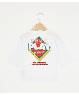 キッズ プレイグラウンド 7分丈 Tシャツ