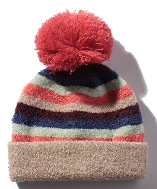 マルチボーダーマシュマロ帽