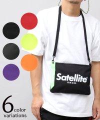 【Satellite/サテライト】BASIC SACOCHE/ベーシックサコッシュ/サコッシュ/ミニショルダー/クリアバッグ