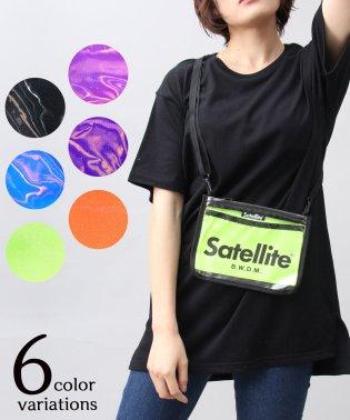 【Satellit/サテライト】CLEAR/クリアサコッシュ/サコッシュ/ビニールバッグ/PVC