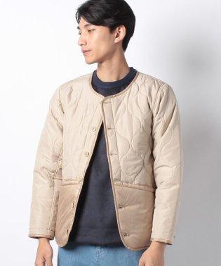 :キルティング中綿ジャケット