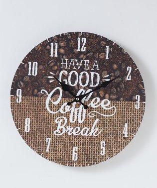 モチーフクロック 「SHOP series」 33cm COFFEE SHOP BEANS&BAG