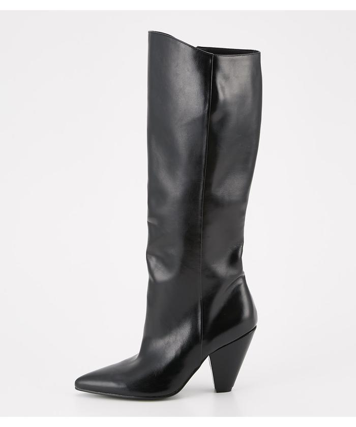 POINTED MIDI BOOTS
