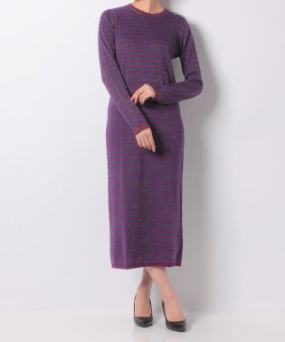 【khaju】CARVEN:RAYEE LUREX KNIT DRESS