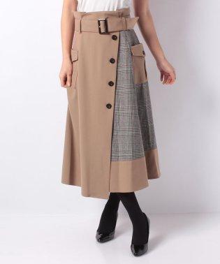 トレンチコンビスカート