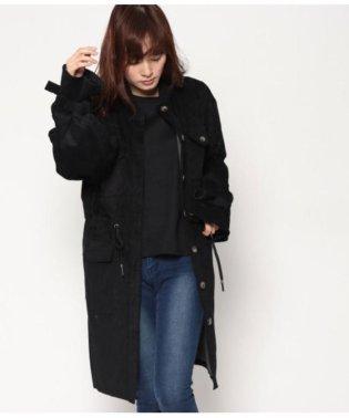 コーデュロイロングジャケットコート