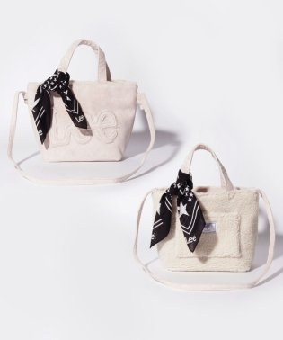 【Lee×SMIRNASLI】  Eco Mouton Mini Tote