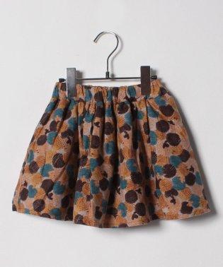 ハリネズミ柄スカート